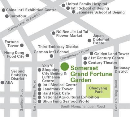 Somerset Grand Fortune Garden