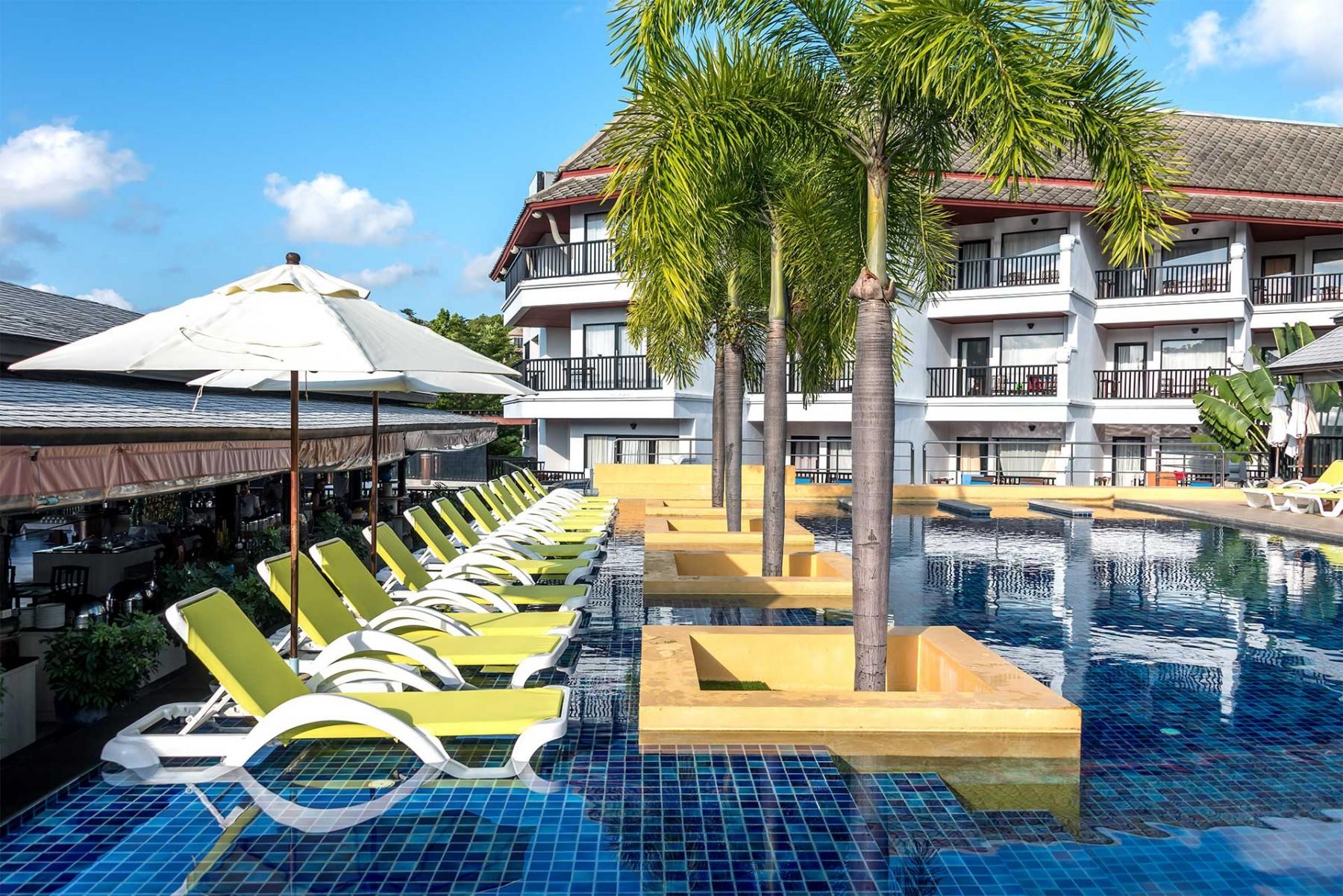 โรงแรม โนโวเทล สมุย รีสอร์ท หาดเฉวง กานดาบุรี