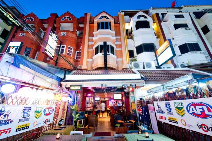 Karon Sunshine Guesthouse Bar and Restaurant