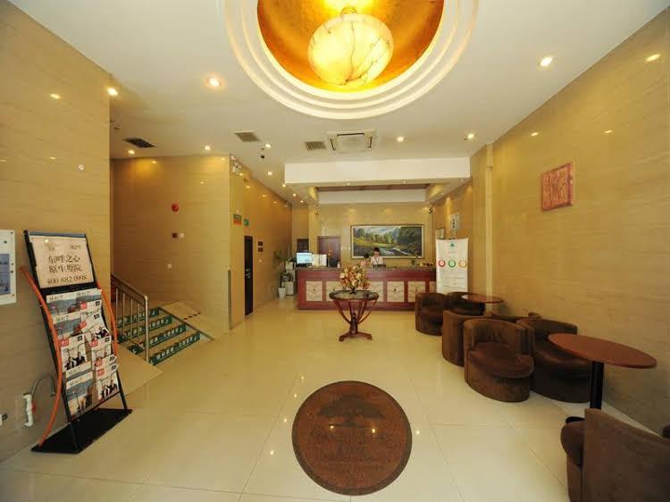 Greentree Inn Shanghai Daning International Yanchang Road Metro Station Business Hotel