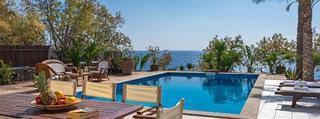 Beachfront Stylish Villa South Crete