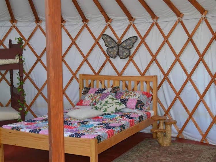 Kids Love Yurts Caravan Park