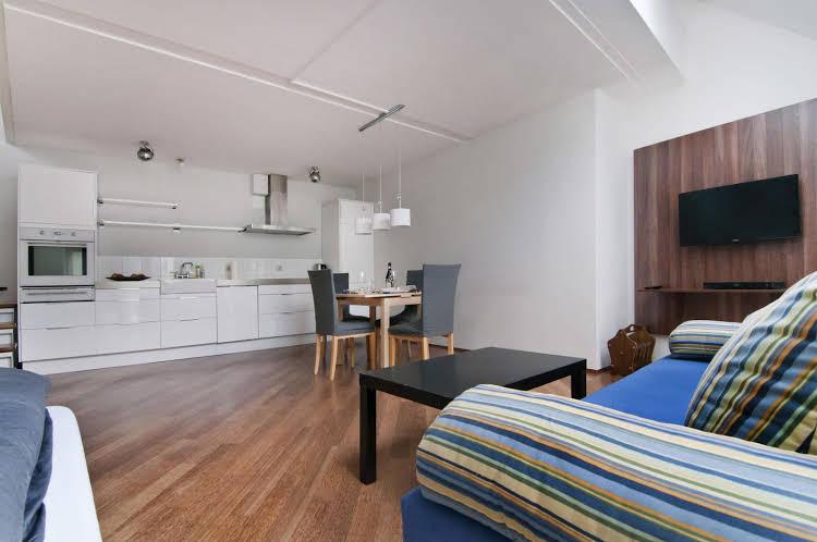 Penthouse apartment at Passauer Platz