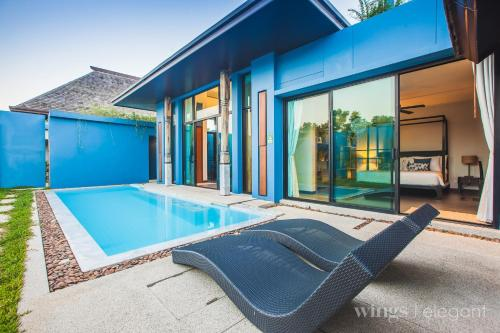 Three Bedroom Wings Pool Villa