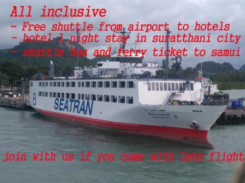 Suratthani Airport Overnight To Koh Samui
