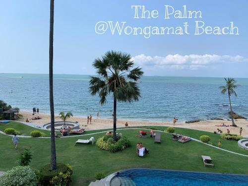 Beach Front Condominium at The Palm Wongamat