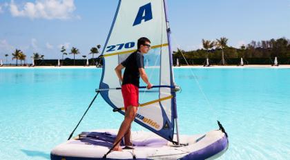 Aquaglide Sailboat