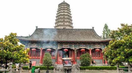 ทริปเที่ยว วัด Famen  และ ทัวร์ Qianling Tomb แบบส่วนตัว