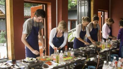 ทัวร์ชมและเรียนในชั้นเรียนทำอาหาร: รสชาติแห่งเมืองหยางซัว