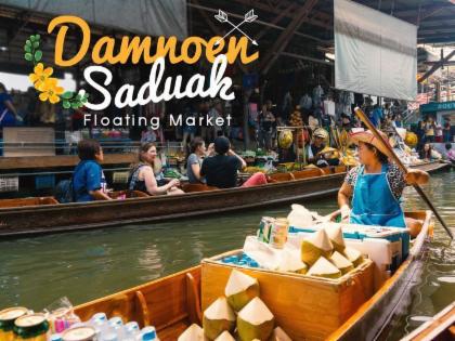 Damnoen Saduak Floating Market And Maeklong Railway Market! (private Tour)
