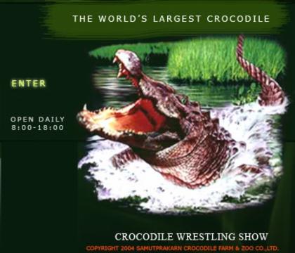 Samut Prakarn Crocodile Farm & Zoo