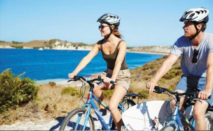 ทัวร์ปั่นจักรยานและดำน้ำตื้นที่เกาะร็อตต์เนสท์จากฟรีแมนเทิล