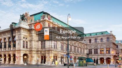 Wiyo 4g Wifi แบบพกพา (รับที่สนามบินมาเลเซีย) สำหรับยุโรป