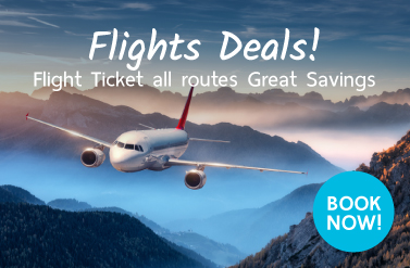 Flight Ticket all routes  Great Savings